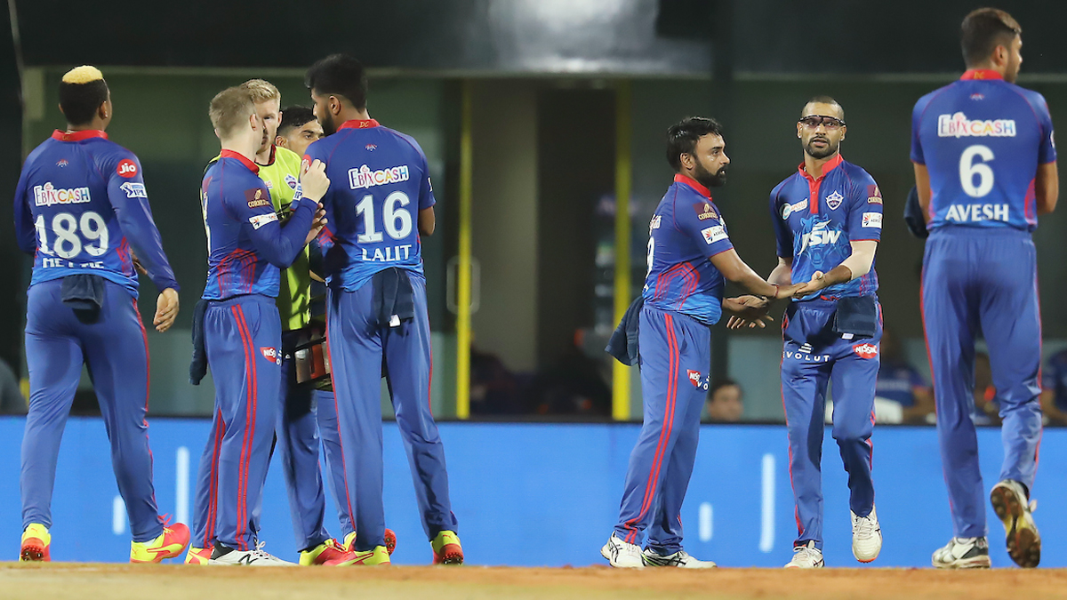 DC vs MI IPL 2021 Stat Highlights: Amit Mishra's Four Wickets Help Delhi Capitals Beat Mumbai Indians by Six Wickets