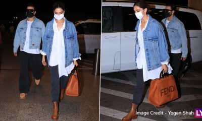 Deepika Padukone Flaunts Her Expensive Fendi Tote at the Airport; Its Price Can Fetch You Three iPhone Pro's!