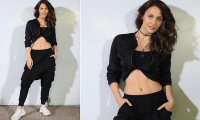 Elli AvrRam Reveals About Her Tomboy Persona, Poses in a Cool Black Crop Top Paired With Low-Crotch Pants (View Pics)