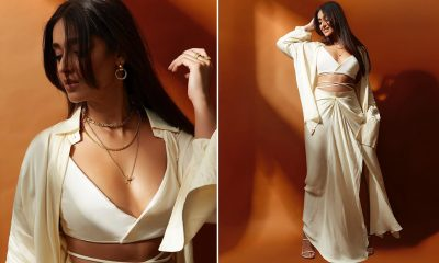 Ileana D'Cruz Is a Sight to Behold in This Stunning White Cut-Out Crop Top (See Pics)