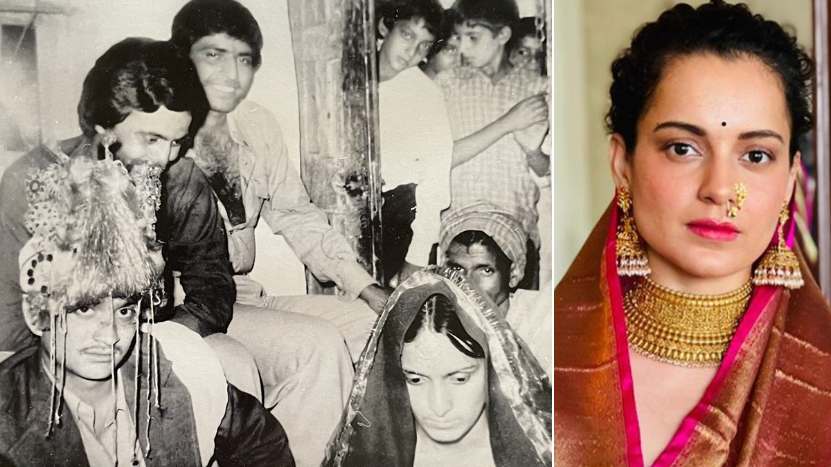 Kangana Ranaut Celebrates Parents' Wedding Anniversary by Sharing Their Throwback Pic