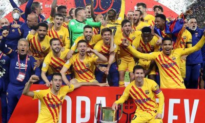 Lionel Messi Scores Brace as Barcelona Thrash Athletic Bilbao 4–0 in Finals to Lift Copa Del Rey 2020–21 Title (Watch Goal Video Highlights)