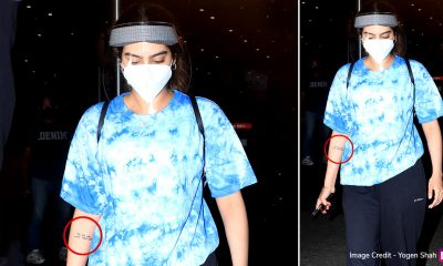 Not Her Wardrobe, But Khushi Kapoor's Inspiring Tattoo Grabs Our Attention in This Airport Click!