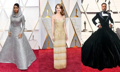 Oscars Throwback: Janelle Monáe, Billy Porter, Emma Stone - 10 Best Fashion Moments from the Academy Awards Red Carpet!