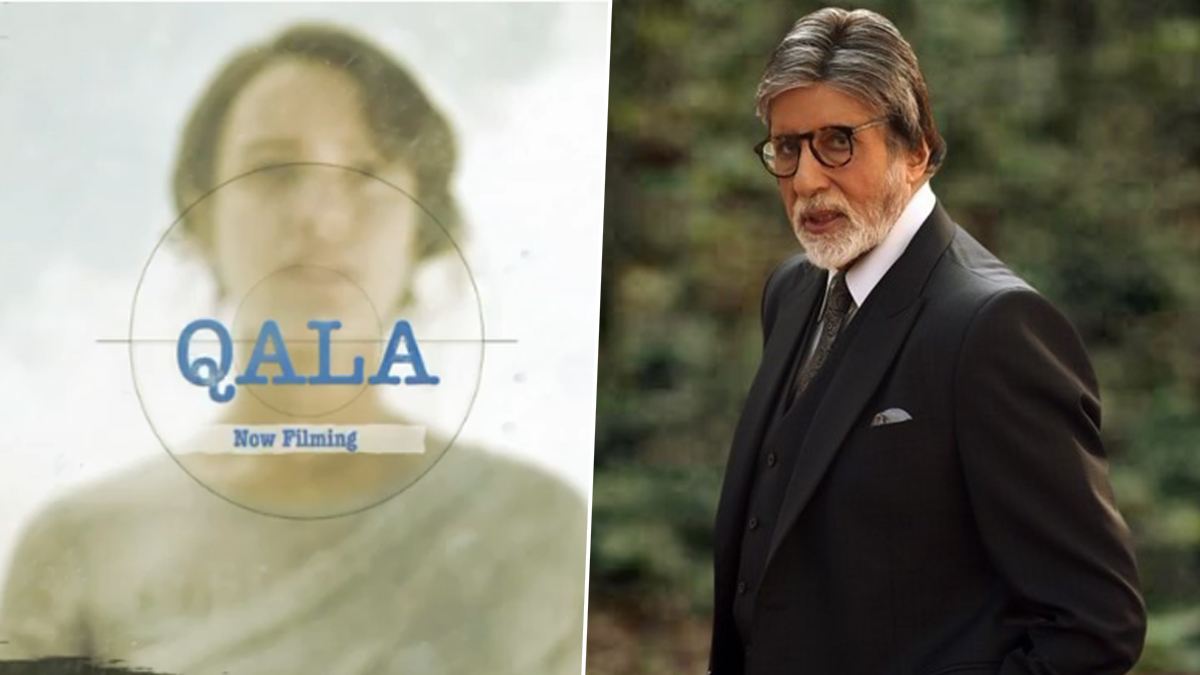 Qala: Amitabh Bachchan Sends Best Wishes to the Team of Tripti Dimri, Babil Khan's Netflix Film