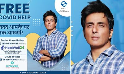Sonu Sood Launches Free COVID Help, Urges More People To Come Forward (View Post)
