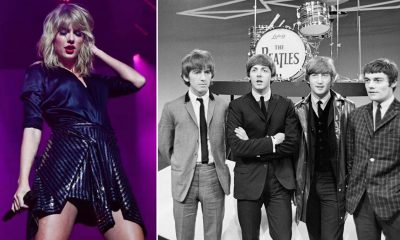Taylor Swift Breaks The Beatles's 54 Years Chart Record After Smashing Three UK No1 Albums in 9 Months
