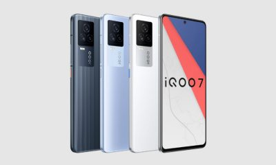 iQOO 7 5G Series Smartphones Launched in India Starting at Rs 31,990