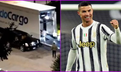 Cristiano Ronaldo Removes Cars From his Garage in Turin Amid Transfer Rumours, is CR7 Set to Leave Juventus? (Watch Video)