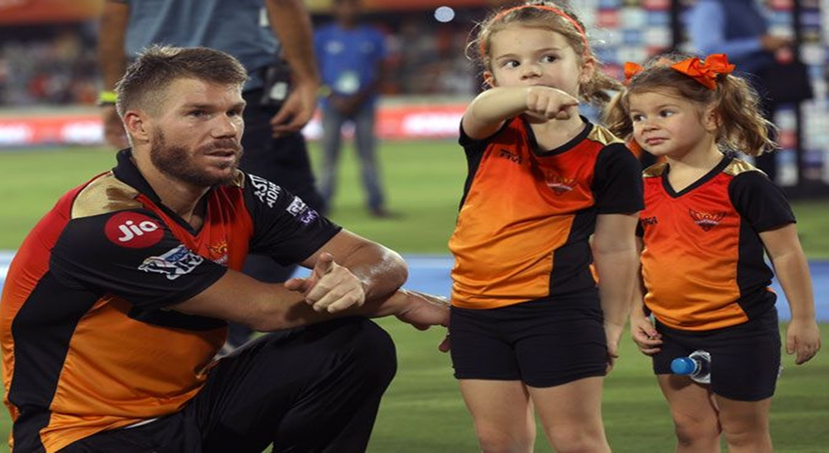 David Warner Posts Heart Touching Drawing by His Daughter Ivy on Social Media After IPL 2021 Gets Suspended