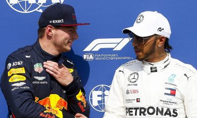Max Verstappen Not at 'War' With Lewis Hamilton, Says 'Let's Just Keep it Competitive in a Nice Way'