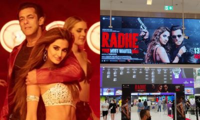 Radhe: Salman Khan-Disha Patani's Film Releases on Eid; Dubai Cinema Halls Sees Grand Welcome and Long Queues (Watch Videos)