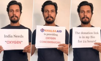 Randeep Hooda Teams Up With an NGO To Arrange Oxygen Concentrators, Urges Everyone To Come Together To Help India Fight COVID-19 (Watch Video)