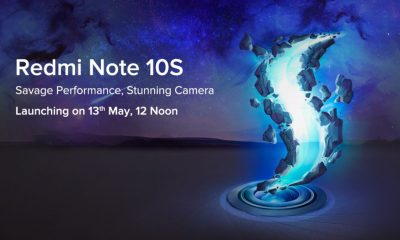 Redmi Note 10S India Launch Set for May 13, 2021