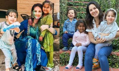 Sunny Leone Birthday Special: 7 Mommy Moments of the Actress With Her Three Kids That Echo Warmth (View Pics)