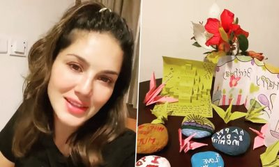 Sunny Leone Shares How Her Children and Husband Daniel Weber Made Her Birthday Special (View Post)