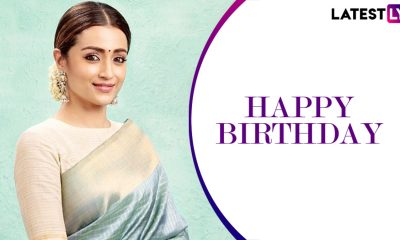 Trisha Birthday Special: 96, Mankatha, Athadu – 5 Best Movies of Your Fave Tamil Actress and Where To Watch Them Online!