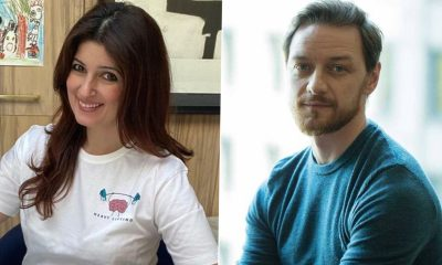 Twinkle Khanna Lauds James McAvoy's Appeal to Donate For COVID-19 Resources in India