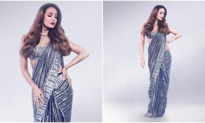 Yo or Hell No? Malaika Arora's Six Yards of Bling By Manish Malhotra