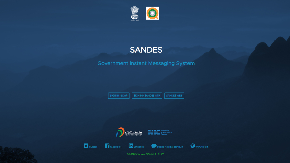 Sandes: Know Everything About the Government of India's Instant Messaging Platform
